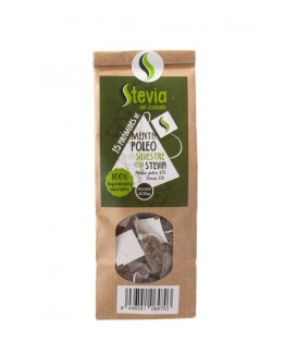 Wild Peppermint Pyramid Tea Bags with Stevia