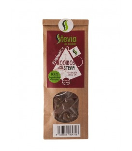 Rooibos Pyramid Tea Bags with Stevia