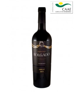 Hermanos Holgado Merlot Organic Red Wine