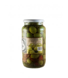 Verdial Chupadeo Crushed Olives 1350g.