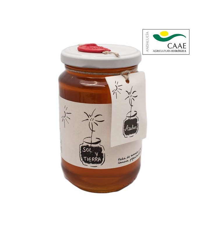 Organic Orange Blossom Honey